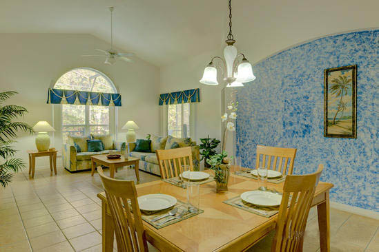 Vacation Home Dining Area